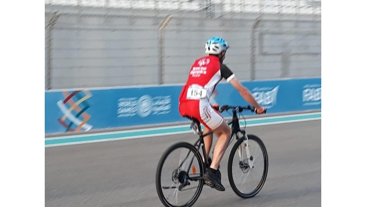 Złoty medal Igrzysk na rowerze z naszego sklepu